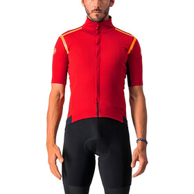 Castelli Gabba RoS Giacca in jersey Uomo, rosso/arancione